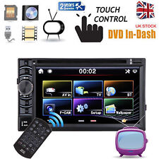 """Double DIN 6.2"""" In dash Car Stereo Radio CD DVD Player FM/AM USB MP3 Bluetooth"""