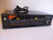 Vintage Technics RS-T920 Stereo Dual Cassette Player Recorder Deck