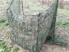 Hide Net Hedgerow Camo by Sillosocks 2Ply 4 x 1.5m  Poles not included