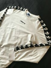 Adidas Originales Trébol TNT Jersey/Sudadera-Blanco-Usado-Talla XS