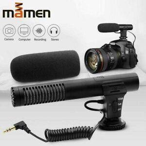 MAMEN MIC-05 Video Microphone for DSLR Camera NCR (UK Stock) BNIB Vlogging Mono
