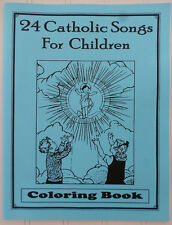 NEW 24 Catholic Songs for Children Coloring Book ~ OLVS Grade 1 Art Music