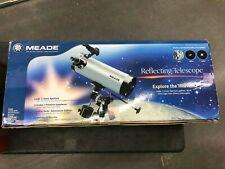 New Meade 114Eq-Astr 114mm 4.5 Reflecting Telescope Open Box