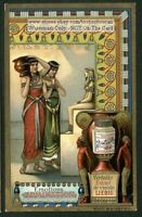 Emotion of Admration A Stunning  c1905 Trade Ad Card