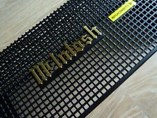 """McIntosh MC-275 MC275 275 amplifier """"CAGE"""" with """"EMBLEM"""" TYPE-A tube cover - new"""