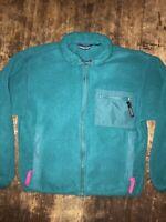 Patagonia Vintage Retro X Zip Up Fleece Jacket Women's size 8 USA Made