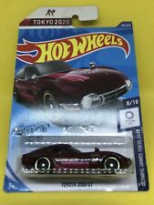 2020 Hot Wheels K Case -  Toyota 2000 GT Olympics - 184/250 - Olympic Games