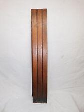 Antique Victorian Beadboard Wainscot - 1885 Butternut Architectural Salvage