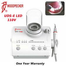 Woodpecker Dental Uds E Led Ultrasonic Piezo Scaler Handpiece 8 Tips 2 Bottles