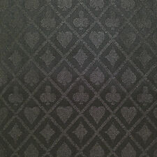PRO Suited Speed Cloth for Poker Tables - Solid Black (6 Feet)
