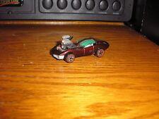 Vintage Custom JL Johnny Lightning 1960's Chevy C3 Corvette Dark Red w Red Lines