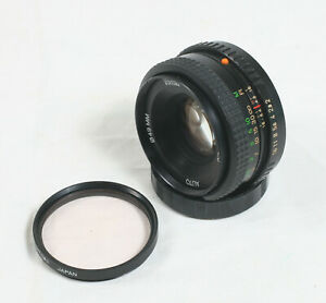 Vivitar 50mm f/2.0 Pentax K PK Mount Lens 16942