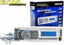DNA MARINE AUDIO PLAYER BLUETOOTH USB MP3 BOAT STEREO SYSTEM AM/FM RADIO MA4B