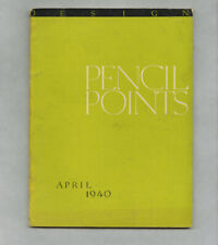 1940 O'Neil Ford Texas Modern Architecture PENCIL POINTS mag Modernist Palestine