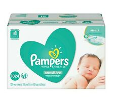 Pampers Sensitive Baby Wipes Perfume Free 1024 ct. - Free Shipping