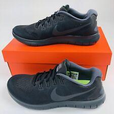 Nike Free RN 2017 Running Shoes Mens 10 Black Gray 880839 003