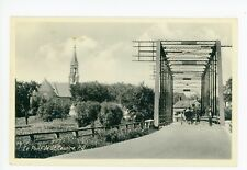 St. Cesaire QUEBEC Pont—Bridge Vintage Horse Carriage 1940s