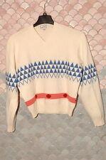 Gianni Versace True Vintage V-neck Cashmere Sweater, NOS, Mint, EU 50, US 40