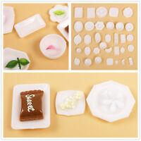 33 X Doll Accessories Kitchen Mini Tableware Plate Dish Decoration Toys