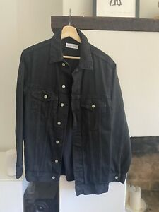 Women's Assembly Label black denim jacket