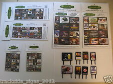 1980's Model Railway Advert Pack - OO Gauge 4mm - Posterboards, Billboards etc