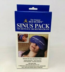 New Original Bed Buddy Sinus Pack Microwave Refrigerate Hot Cold Relief BB21