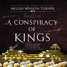 A Conspiracy of Kings by Megan Whalen Turner 2017 Unabridged CD 9781538428368