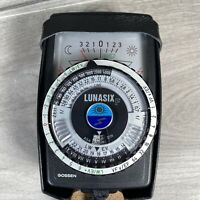 Gossen Lunasix F Light Meter in Original Leather Case ***SPARES & REPAIRS***