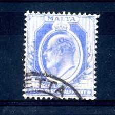MALTA - 1911 - Effigie di Edoardo VII  2½ p. Used (B)
