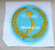 """TO QUOC NHAN DAN""  ARVN  printed vietnam  cloth patch"