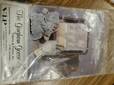 The Gingham Goose Baby Boutique Diaper Tote Blanket Toy Organizer Pattern Only