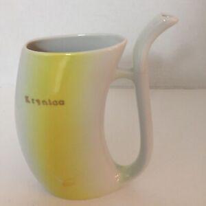 Krynica Cmielow Porcelain Poland Water Spout Sip Cup Mug