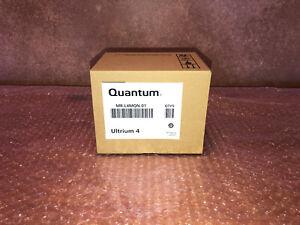 NEW SEALED QUANTUM 5-PACK ULTRIUM 4 LT04 800/1600GB DATA CARTRIDGES MR-L4MQN-01