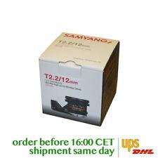 Samyang 12mm T2.2 Cine NCS CS for Canon M
