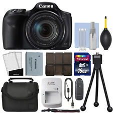 Canon PowerShot SX540 HS 20.3MP Digital Camera 50x Optical Zoom + 16GB Kit