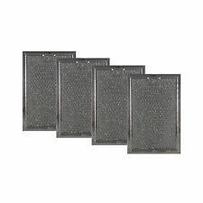"""Microwave Range Hood Grease Filter 5"""" x 7-5/8"""" x 3/32"""" (4 Pk) (Aff73-M) By Aff"""