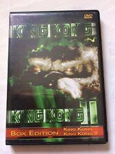 KING KONG 1 & 2 cofanetto rarissimo  2 DVD ottimo BOX EDITION