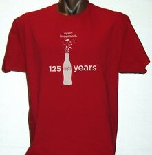 Vintage Coca-Cola COKE 125 years - Extra Large T-shirt