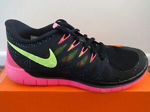 Nike Free 5.0 womens trainers sneakers shoes 642199 002 uk 4.5 eu 38 us 7 NEW