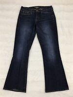 Lucky Brand Womens Jeans Size 10/30 Sofia Boot Cut Dark Wash Denim