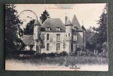 CPA. LES BOTTEREAUX. 27 - Château de REBAIS. 1916. RABELAIS. Missive bizarre.