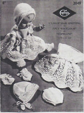 Unbranded Doll Clothing Crocheting & Knitting Patterns
