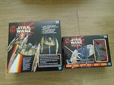 Star Wars episodio 1 vehículos/figura conjuntos Droid Starfighter & Darth Maul Speeder
