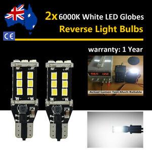 For Mitsubishi Triton 2006 2007 2008 Reverse Light Globes No Error T15 LED Bulbs