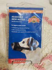 Adjustable Mesh Muzzle Medium Size 4 Fits 24-48 Lb Dog Great Choice Brand New