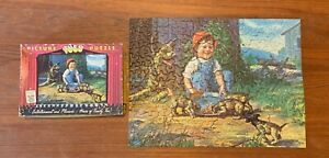 Vintage 1957 TUCO PICTURE PUZZLE Thick 300+ Missing 2 Pcs Series 4900 - 49
