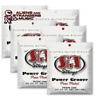 6 Sets! SIT Strings PN1046 Light Power Groove Pure Nickel .010-.046 for sale
