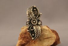 Old Pawn Navajo  sterling Silver Ring  Size 11