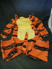 Winnie the Pooh vtg tigger Childs Halloween Costume authentic disney sz 4-6 (J1)