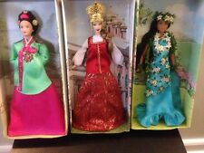 Mattel Barbie Princess DOTW Hawaii Pacific Islands Russia Korea Court Brand New